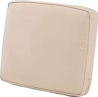 Classic Accessories Montlake Patio FadeSafe Back Cushion, Beige, 23