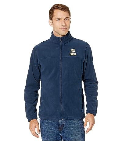 Columbia College Notre Dame Fighting Irish CLG Flankertm III Fleece Jacket (Collegiate Navy) Men