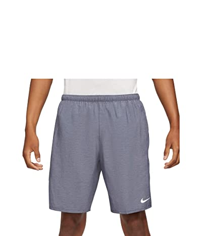 Nike Dri-FIT Challenger Shorts 9 Brief (Obsidian/Heather/Reflective Silver) Men