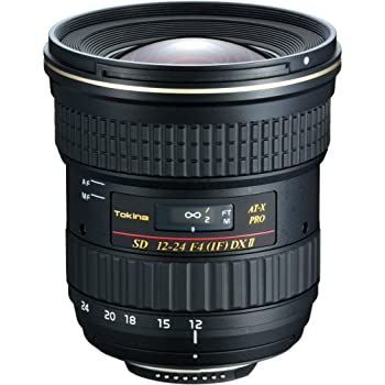 Tokina - Objectif ATX 12-24mm/4 Pro DX II avec pare-soleil BH 779 pour Nikon (Monture NIKON)