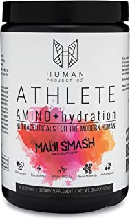 Athlete Amino+Hydration - Advanced EAAs (Includes BCAAs) Plus Electrolytes and Nordic Cherry- Refreshing Flavor - 30 Servings
