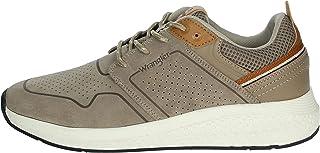 Wrangler Sneakers bassa Uomo Tortora Wm01070a