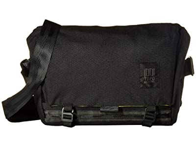 Topo Designs Messenger Bag (Black) Messenger Bags