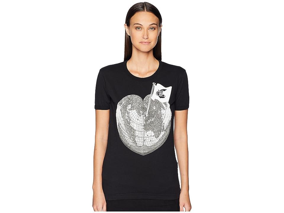 Vivienne Westwood - Vivienne Westwood Classic T-Shirt Heart World Print