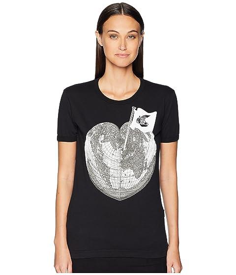 Vivienne Westwood Classic T-Shirt Heart World Print