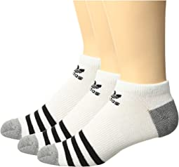 adidas - Originals Roller No Show Sock 3-Pack (Little Kid/Big Kid)