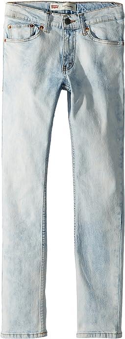 510 Bleached Skinny Jeans (Big Kids)