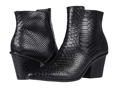 KAANAS Ghemme All Over Anaconda Bootie (Black) Women