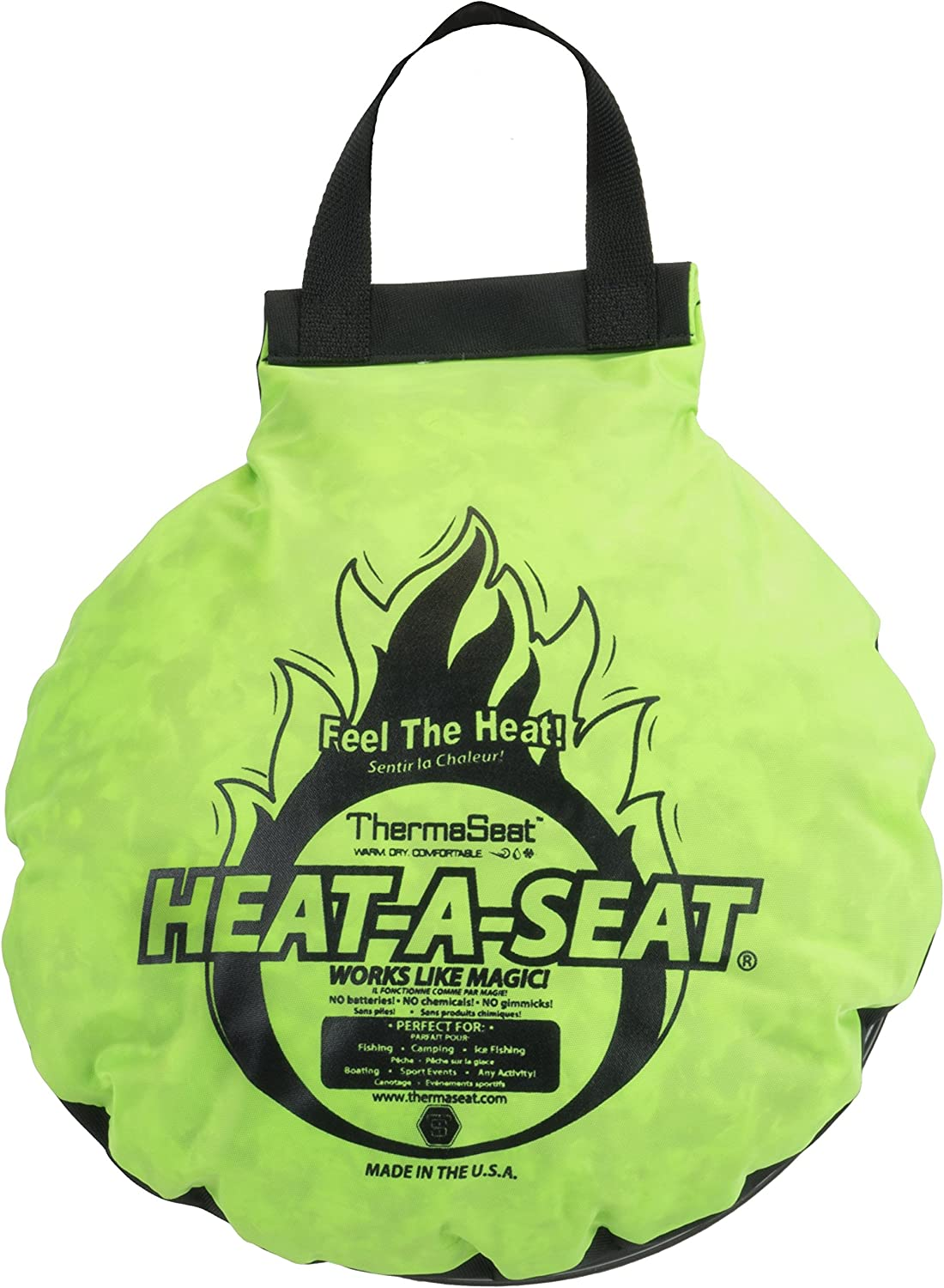 Details about  /ThermaSeat Stay Outdoors Infusion Bucket  Lid Spin Seat Flat Top Waterproof