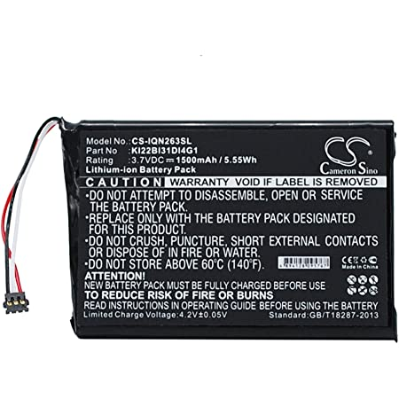 Replacement Battery for Garmin Nuvi 2300 Nuvi 2300LM Nuvi 2340LT Nuvi 2350LMT Nuvi 2350LT Nuvi 2360 Nuvi 2360LM 2360LMT 2360LT 2370 2370LT 2598 LMTHD Part NO 361-00035-00 361-00035-02