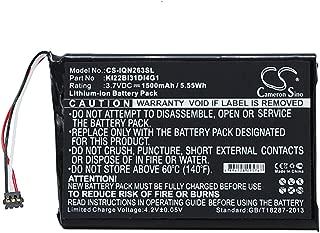 Battery Replacement for Garmin Nuvi 2639LMT 010-01188-02 2689LMT 6-inch Nuvi 2639LMT 6-inch KI22BI31DI4G1