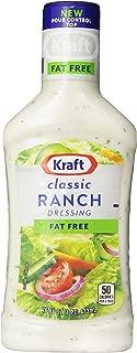 Kraft Ranch Fat Free Dressing (16 oz Bottles, Pack of 6)