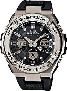 CASIO(カシオ) G-SHOCK Gショック 電波ソーラー G-STEEL アナデジ GST-W110-1A / GST-W110-1AER 海外モデル (国内品番 GST-W110-1AJF と同型) 男性用 メンズ [並行輸入品]
