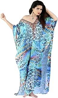 jewelled kaftan dress