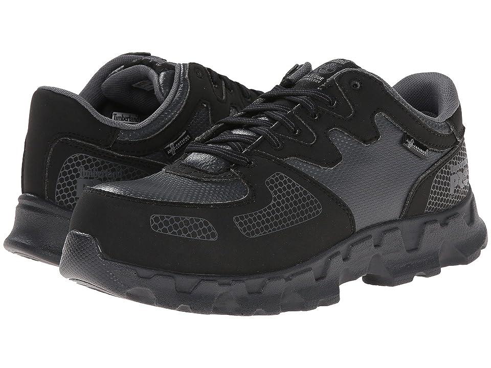Timberland PRO Powertrain Alloy Safety Toe ESD (Black/Grey) Women