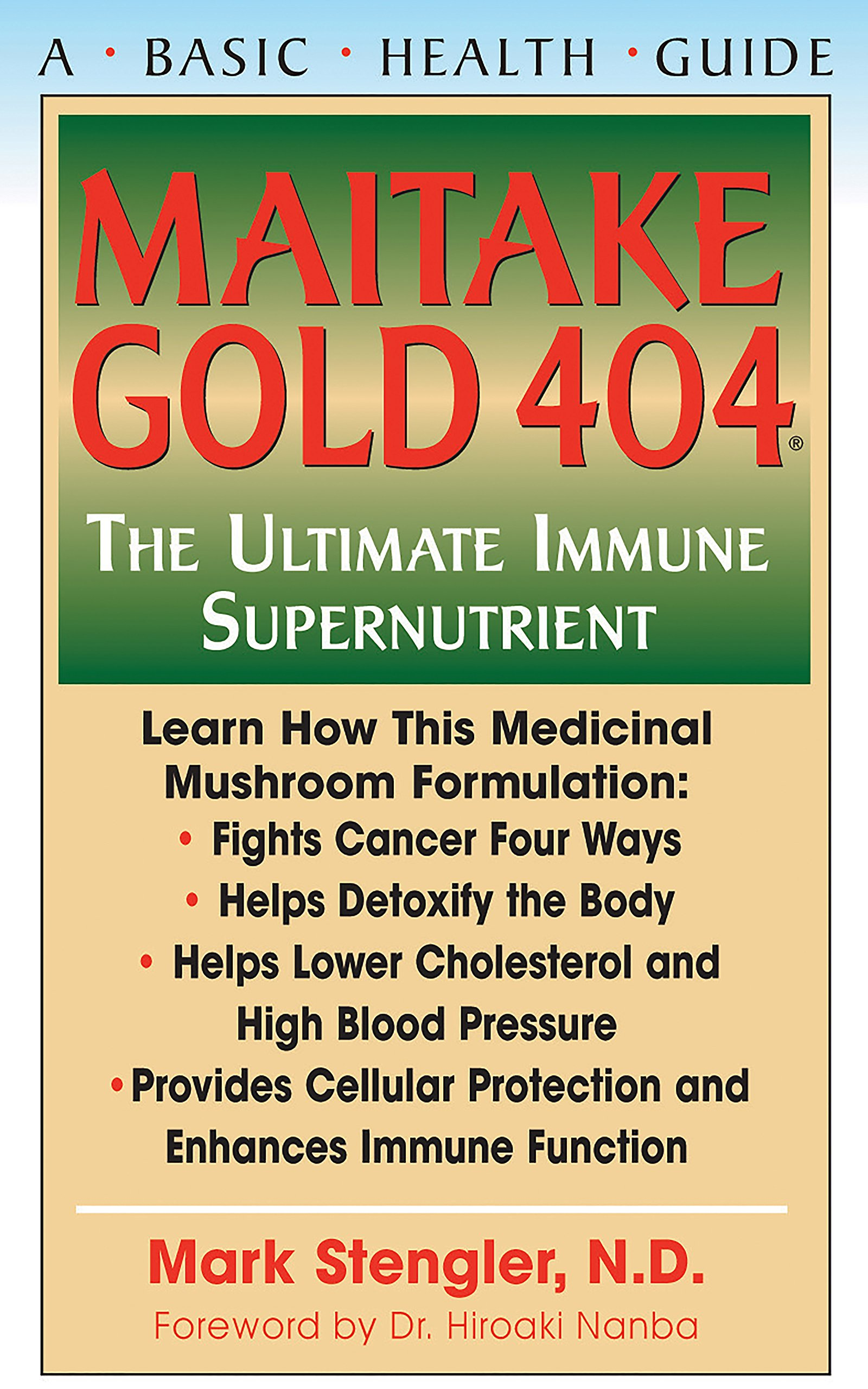 Maitake Gold 404 Ultimate Supplement ebook