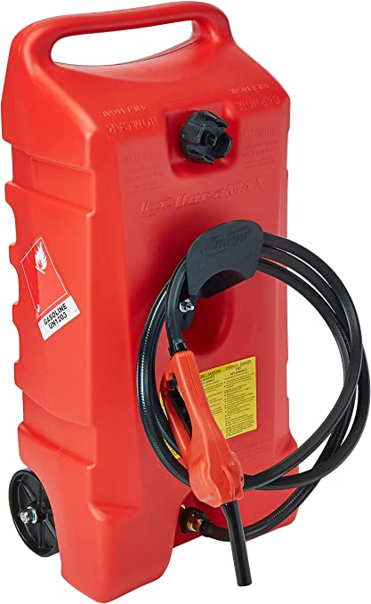 Scepter USA 6792 Duramax 14 Gallon Flo-N-Go Fuel Caddy, Red: image