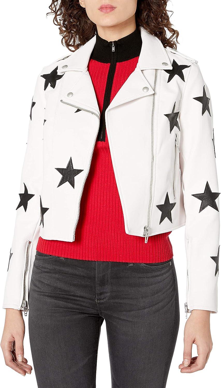 [BLANKNYC] womens Faux Leather Jacket