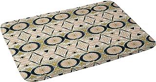 "Deny Designs Marta Barragan Camarasa Bath Mat, 21"" x 34"", Marble Mosaic Pattern"