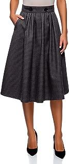 Ultra Women's Checkered Midi Skirt
