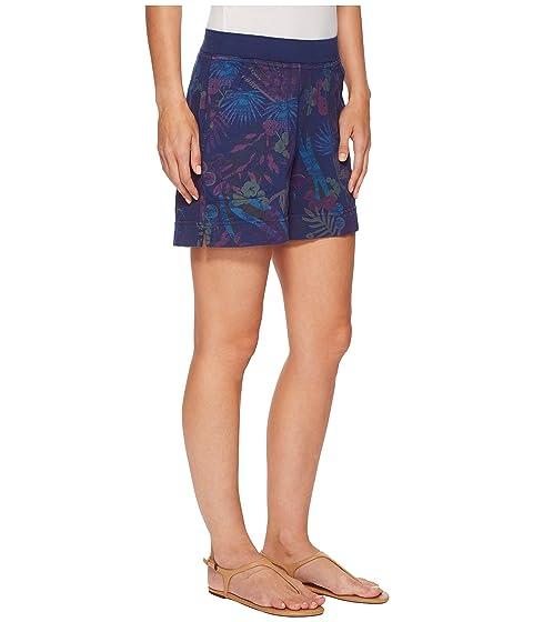 Botanical Bright Moonlight Fresh Key Produce Largo Blue Shorts HSHYE