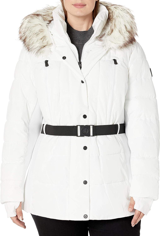 London Fog (LONAG) F.o.g. by London Fog Women's Plus Size Short Belted Active Jacket