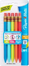 Paper Mate 1862166 Mates Mechanical Pencils, 1.3mm HB #2 Lead, 5 Count