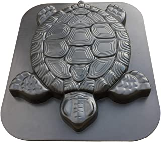 HapWay Turtle Shape Stepping Stone Mold, Tortoise Concrete Cement Mould Walk Maker, DIY Personalized Manual Garden Lawn Pathmate Paving Pavement Paver
