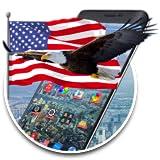 American Eagle & Flag 2d (free)Theme