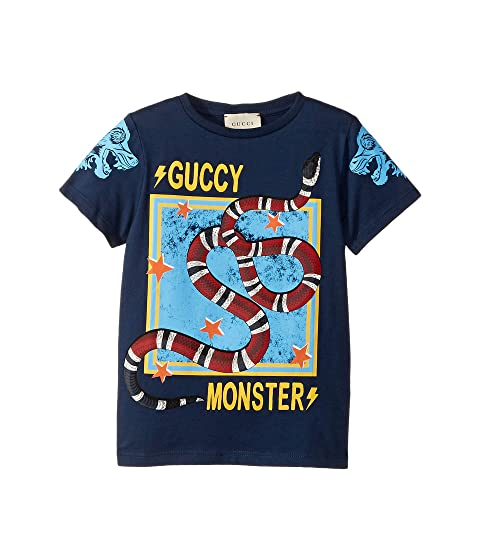 29798f87 Gucci Kids Guccy Monster T-Shirt (Little Kids/Big Kids) at Luxury ...