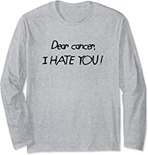 Dear Cancer I Hate You