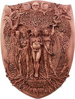 Pagan Wiccan Tripple Goddess母Maiden Crone Plaque
