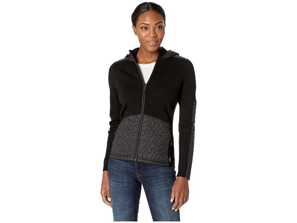 Smartwool Ski Ninja Full Zip Sweater (Black) Women