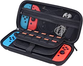 CamKix Case Compatible with Nintendo Switch - Protects your Nintendo Switch, Joy Cons, Games and Accessories - Protective ...