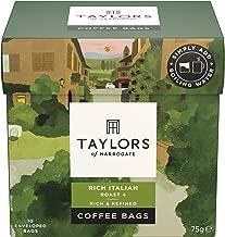 Taylors Of Harrogate Rich Italian Coffee Bags, 75 g