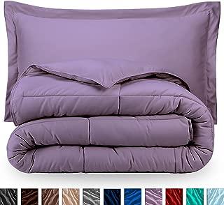 Best solid lavender comforter Reviews
