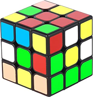 MoYu MF3 3x3 Speed & Magic Cube Puzzle | Anti-Stick Concave for Smooth Twisting | Educational Toy for Adults & Kids | Sharpen Brain, Enhance Fine Motor Skills, Critical Thinking&Problem Solving(56mm)