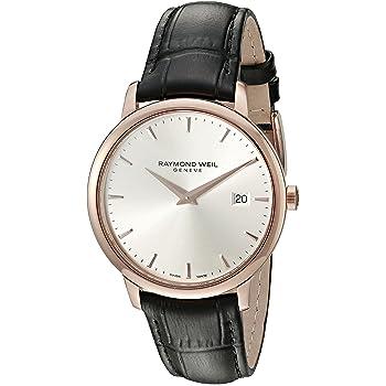 Raymond Weil Men's 5488-PC5-65001 Analog Display Quartz Black Watch