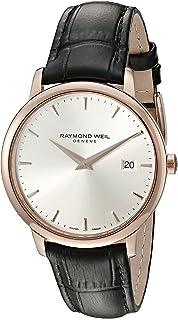 Raymond Weil - Reloj Analógico para Hombre de Cuarzo con Correa en Cuero 5488-PC5-65001