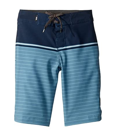 Vans Kids Newland Boardshorts (Little Kids/Big Kids) (Dress Blues/Bluestone) Boy