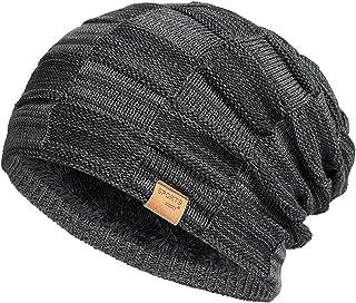 کلاه های مخصوص زمستان برای مردان Vgogfly Slouchy Beanie برای مردان کلاه های خنک Beans Mens روکش شده