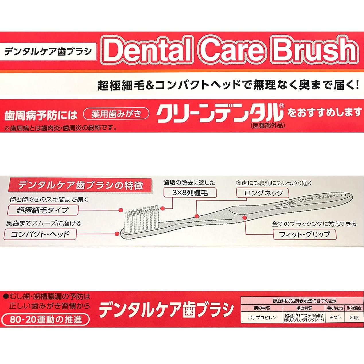 差別的ヘア知性【数量限定】超極細毛&コンパクトヘッド デンタルケア歯ブラシ (3本)
