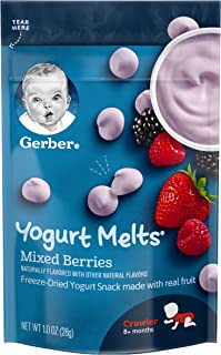 Gerber GRADUATES, Baby Food, Yogurt Melts Mixed Berries, 28g