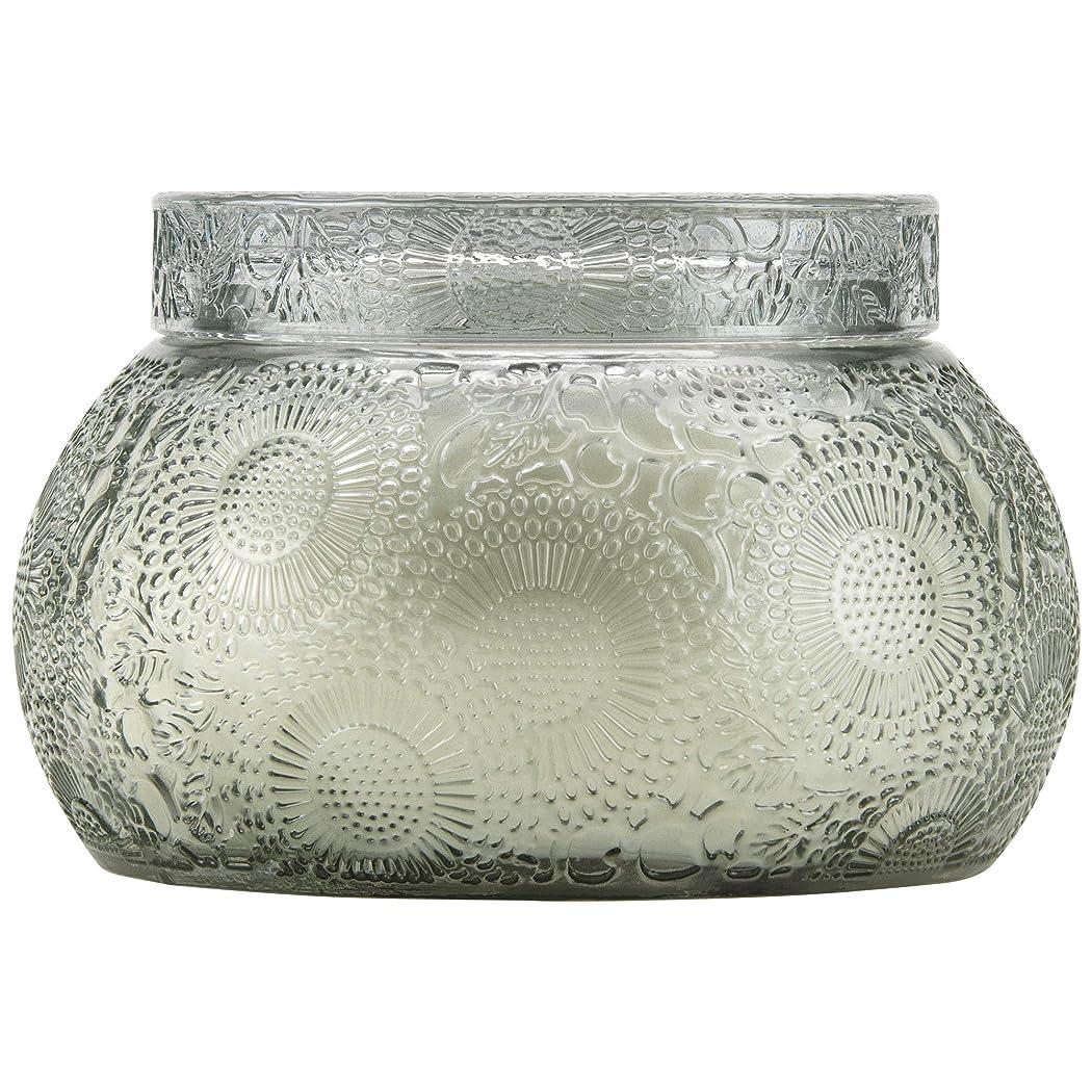 懐疑的上回るすすり泣きVOLUSPA チャワングラスキャンドル French Cade Lavender フレンチケード&ラベンダー GLASS CANDLE ボルスパ