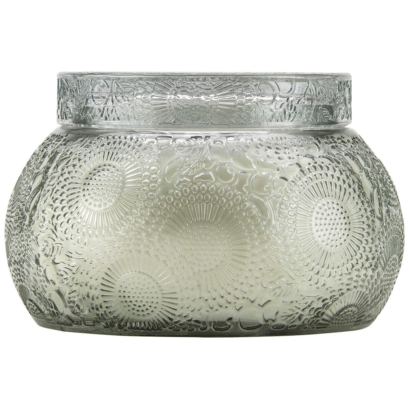 平和的慢性的皮VOLUSPA チャワングラスキャンドル French Cade Lavender フレンチケード&ラベンダー GLASS CANDLE ボルスパ