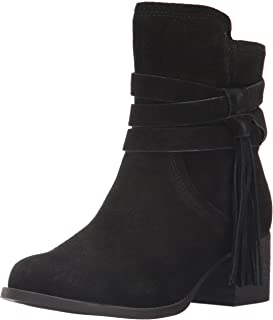 Koolaburra by UGG Women's Kenz Fashion Boot, Black, 08 M US