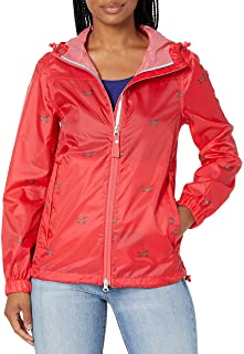 Joules Outerwear Women's Meadley, Red Dog, 4