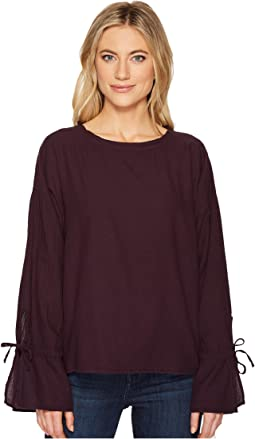 Liberty Twill Voile Tie Sleeve Top