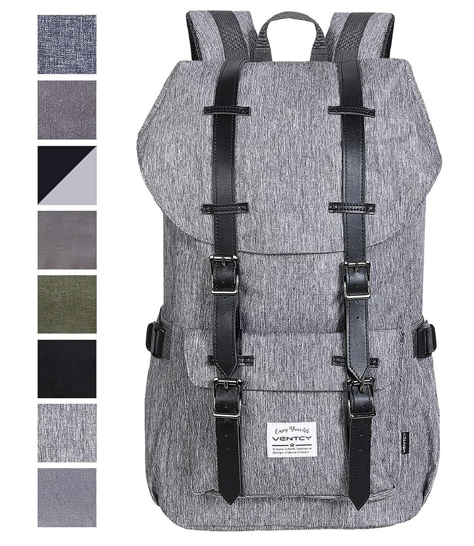 VENTCY College Backpack Men Women 15.6 Inch Laptop Backpack Casual Daypack Bag High School Waterproof Rucksack for Outdoor Travel