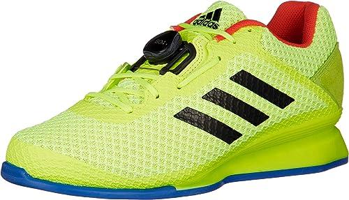 Adidas Leistung 16 II BOA Chaussures d'haltérophilie Jaune